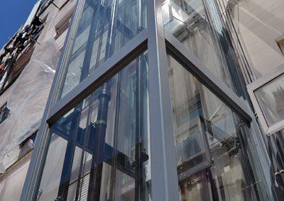 ascensor exterior